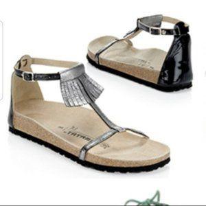 3.1 Phillip Lim Birkenstock Helen fringe sandals